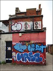 Teach, Touch, Nerd... (Alex Ellison) Tags: teach touch dds nerd throwup throwie westlondon urban graffiti graff boobs