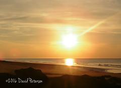 Yellow glow (David Paterson photos) Tags: sunset covesea beach lossiemouth morayfirth scotland skies blackisle