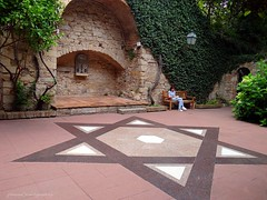 The very ancient Rambam synagogue in Girona (jackfre 2) Tags: catalunya spain girona city jewishheritage synagogue rambamsynagogue rambam torahs ancientscriptures mezouzahs menorah documents ancientsynagogue mmejackfre