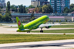 S7 A320 (denlazarev) Tags: aerspot2016 airbus a320 s7airlines takeoff vqbes baselaero caucasus russia runway clouds canon air aviation airline airplane airport aircraft airliner sky spotting fly photo plane lightroom    outdoor sochi adler aer urss mountains