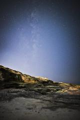 Moonscape (Timothy M Roberts) Tags: australia d810 20mm astrophotography vialactea blue stars sydney maroubra