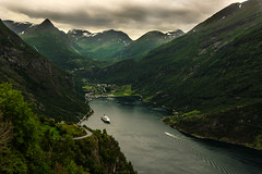 Geiranger (Manadh) Tags: manadh landscape norway westernnorway pentax k3 view mountain fjord geiranger ferry sigma 1835mm