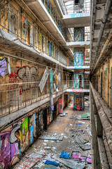prison H15 (JanJungerius) Tags: urbex abandoned prisonh15 gefngnis gevangenis verval verfall decay france frankreich verlaten tamronsp2470mm