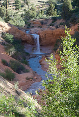 Waterfall (nick.amoscato) Tags: west03 west03bryce mossy cave trail bryce national park utah