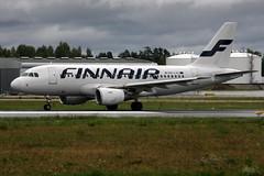 Finnair OH-LVL, OSL ENGM Gardermoen (Inger Bjrndal Foss) Tags: ohlvl finnair airbus a320 osl engm norway gardermoen