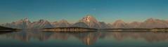 The Grand Tetons(and the Moon) (Kylemcphins) Tags: grandtetonnationalpark mountains