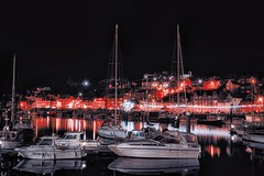 whitby-harbour (petern1694) Tags: whitby yorkshire harbour port fishing boats night nightscape longexposure reflection lights canon canon500d eos