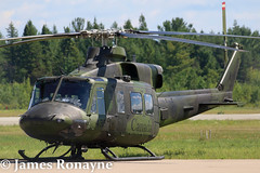 146435 | CH-146 Griffon | RCAF 1 Wing (james.ronayne) Tags: aviation trois rivieres yrq canon 70d raw stunning sharp sunny gorgeous beautiful 146435 ch146 griffon rcaf 1 wing helicopter heli chopper aircraft