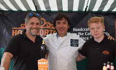 Jean-Christophe Novelli with Hook Norton Brewery