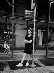 Gillian (ShelSerkin) Tags: shotoniphone blackie iphone iphoneography squareformat mobilephotography streetphotography candid portrait street blackandwhite nyc newyork newyorkcity gothamist
