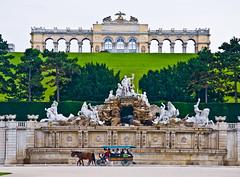 Gloriette (chrisdingsdale) Tags: architecture austria baroque castle culture garden gloriette habsburg heritage landmark monument palace park schoenbrunn vienna