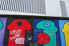 Two faces (sz1507) Tags: ruins disegno vernice linee perspective prospettiva muro sguardo volti figures murodiberlino artecontemporanea arte dipinti paintings facce loveberlin thewall wall faces d60 nikond60 eastsidegallery mauer berlinermauer berlinwall colors graffiti art streetart murales germania berlino berlin
