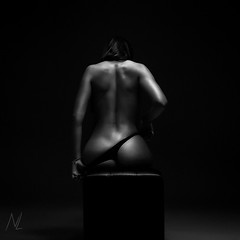 Last piece of cloth (n_lev44) Tags: ifttt 500px perfect nude woman adult female body erotic model attractive studio dark young sexual beauty naked sensuality beautiful back seductive figure black white background art girl artistic closeup sensual slim silhouette
