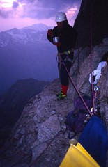 Supper and Bedroom, Vire des Allemands (andywalker1) Tags: andrewwalker americandirect dru petitdru chamonix alps alpineclimbing