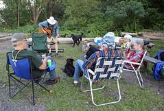 1369 (Jean Arf) Tags: trumansburg ny newyork summer 2016 cayuga lake kerry music guitar annie dog jim yvie kevin joanne