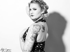 Kaitlyn (Campos Studios) Tags: model beauty fashion style studio highcontrast ink tattoo