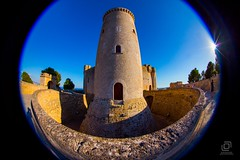 Bellver castle. (Jononse) Tags: castle stone tower torre middleage ancient old palmademallorca balearicislands bellver