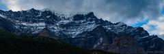 Panorama 12 (Adrian De Lisle) Tags: lakemoraine banffnationalpark banff mountains clouds panorama
