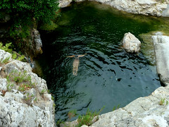 Ratsos 02.09.16 - 04 (angeloska) Tags: ikaria upperchalares ratsos waterfall wildswimming rivertrekking aegean greece september chalares opsikarias thetrailoftwocanyons      girls mountaingorge angelolivada angelspool