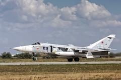 RF-33781 (Shnipper) Tags: russiannavy sukhoi su24mr tsyupka shnipper recon aircraft airplane takeoff spotting jet pentax k3 sigma150500 crimea