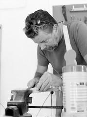 knifemaking-contax-6 (gustav.thoresson) Tags: 15f56 2016 7min contax645 fleninge hc110 trix dilb kniv pappa