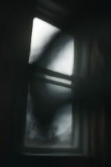 (CSKalinsky) Tags: abstract window ghost shadow color lightandshadow darkart haunting