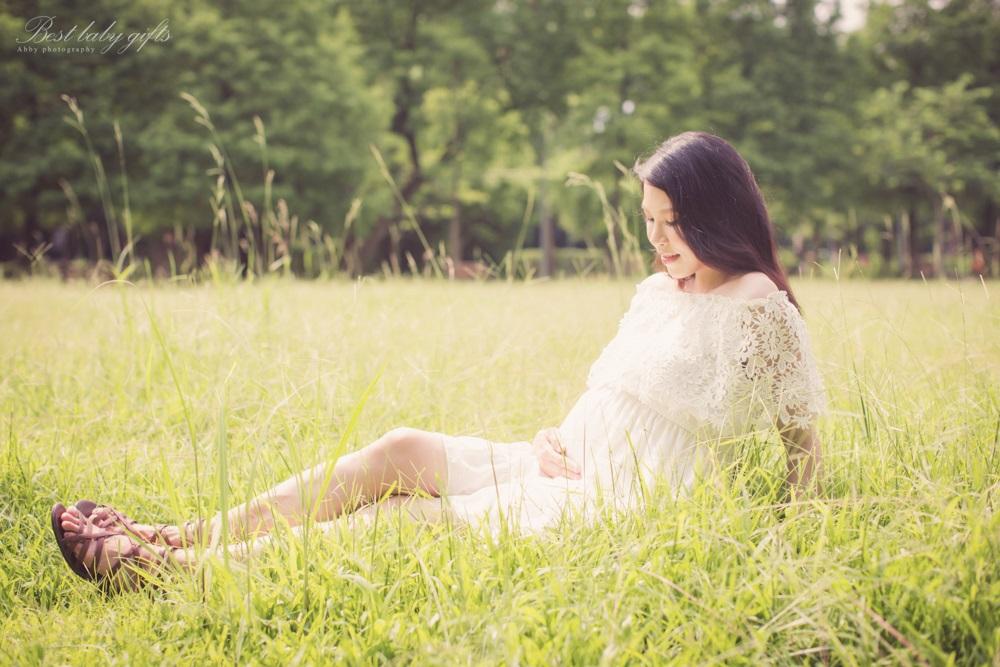 女攝影師空姐孕婦寫真外拍攝影
