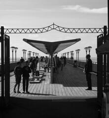 lines (stephmensing) Tags: bw pier peer beach bournemouth boscombe people square pretty amaing amazing want stephanie mensing photograher england uk united kingdom