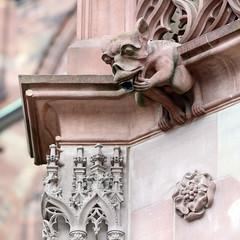 Strasbourg-2016-02-13-061 (Sambaphi) Tags: strasbourg france alsace cathdrale cathedral notredame sculpture statue gargouille