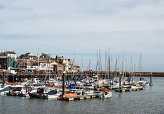 BOATS in BRIDLINGTON HARBOUR, YORKSHIRE_DSC_1373_LR_2.0 (Roger Perriss) Tags: bridlington d750 harbour boats moorings houses