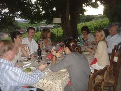Life is great at Chateau La Clotte and friends