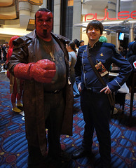 Hellboy (_galacticat) Tags: atlanta costume cosplay convention hellboy dragoncon battlestargalactica bsg dragoncon2012 dc2012