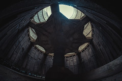 Cooling Tower 01 (bestarns [www.spiritofdecay.com]) Tags: urban plant tower abandoned canon eos power place im decay fisheye 7d exploration 8mm cooling urbex loste bestarns samsyang