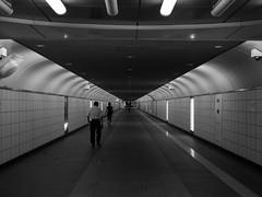 Underpass (Simon*N) Tags: monochrome japan underpass lumix tokyo shinjuku metro olympus 新宿 omd 地下鉄 地下道 nichijou