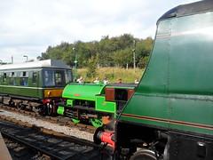 Swanage Steam gala 2012 (DerekTP) Tags: port railway steam judy gala swanage par 2012 manston dmu 34070