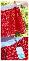 Falda de verano / Summer skirt (~ tilde ~) Tags: girl handmade sewing skirt nia falda costura hechoamano