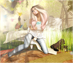 - lazy-lazy-lazy afternoon - #3 (FlowerDucatillon) Tags: life flower fashion blog post pixel second mons magika slupergirls