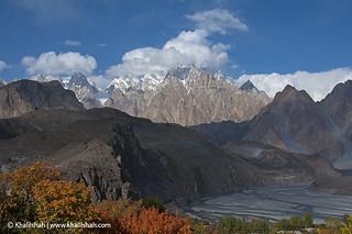 Passu Cones, Hunza, Pakistan