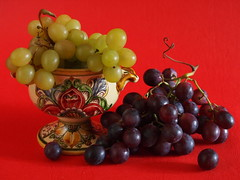 Grapes time - Tempo d'uva (SissiPrincess) Tags: autumn red stilllife verde green fall cup yellow colours violet giallo grapes uva viola autunno rosso colori soe makelovenotwar coppa otw coth supershot platinumheartaward flickraward coth5 mygearandme mygearandmepremium masterclassgroup
