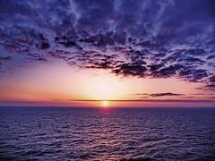 Blue magic sunset. (Bessula) Tags: sunset sea summer sky clouds spain natur photomix soulscapes bessula bestcapturesaoi magicunicornverybest rememberthatmomentlevel1 rememberthatmomentlevel2 creativephotocafe