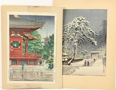 85. Two Japanese Woodblocks