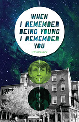 being young (catherine.roach) Tags: poster typography graphicdesign ranger remember space young scout nebula memory futura