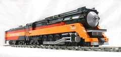Southern Pacific Daylight #4449 (SavaTheAggie) Tags: daylight lego pacific engine steam southern sp locomotive streamlined northern streamline 484 4449