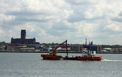Admaril Day on the River Mersey (pelpa_666) Tags: liverpool river boats ship mersey