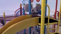 Playground #4 (Sivan Baron) Tags: elephant art animals playground illustration design 3d maya render 3dart characterdesign sivanbaron