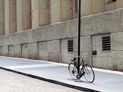 Bicycle at Wall Street (halilsenturk) Tags: new york nyc usa newyork bike bicycle photography manhattan wallstreet