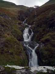 Waterfalls located next to A702 that runs through the Dalveen Pass in Dumfries and Galloway (penlea1954) Tags: uk fall water scotland waterfall pass waterfalls valley dumfries galloway elvanfoot dalveen m74 thornhill dumfriesshire durisdeer a702 carronbridge