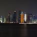 Doha Skyline from the museum of Islamic art | 120930-3327-jikatu