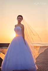 (Ole Lukoie) Tags: wedding light sunset sea portrait people sun love smile face couple faces lovers weddingdress weddingday kazakhstan   whitedress          aktau     kazakhgirl  kazakhwedding kazakhpeople