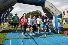 Road Block Run (CHSS Fundraising) Tags: charity sport scotland edinburgh competition running lothians arthursseat chestheartandstrokescotland